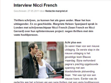 Interview Margriet